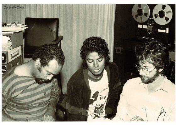 Thriller Michael Jackson Quincy Jones Rod Temperton Studio