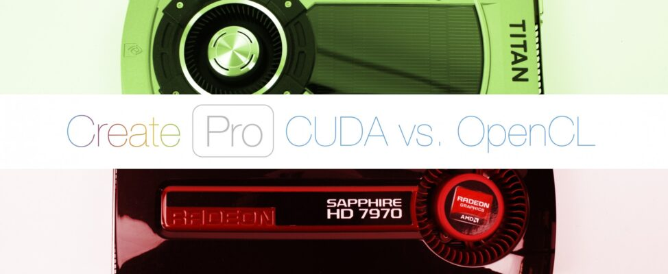 OPEN CL vs CUDA Which applications and programs work