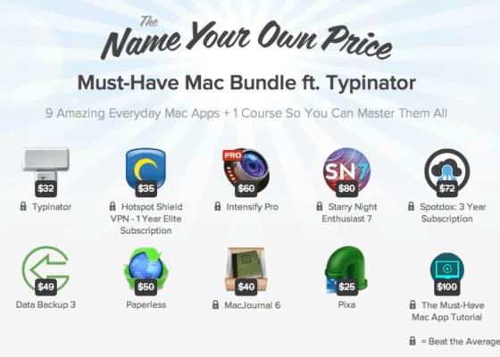 Mac Software Bundle including Typinator