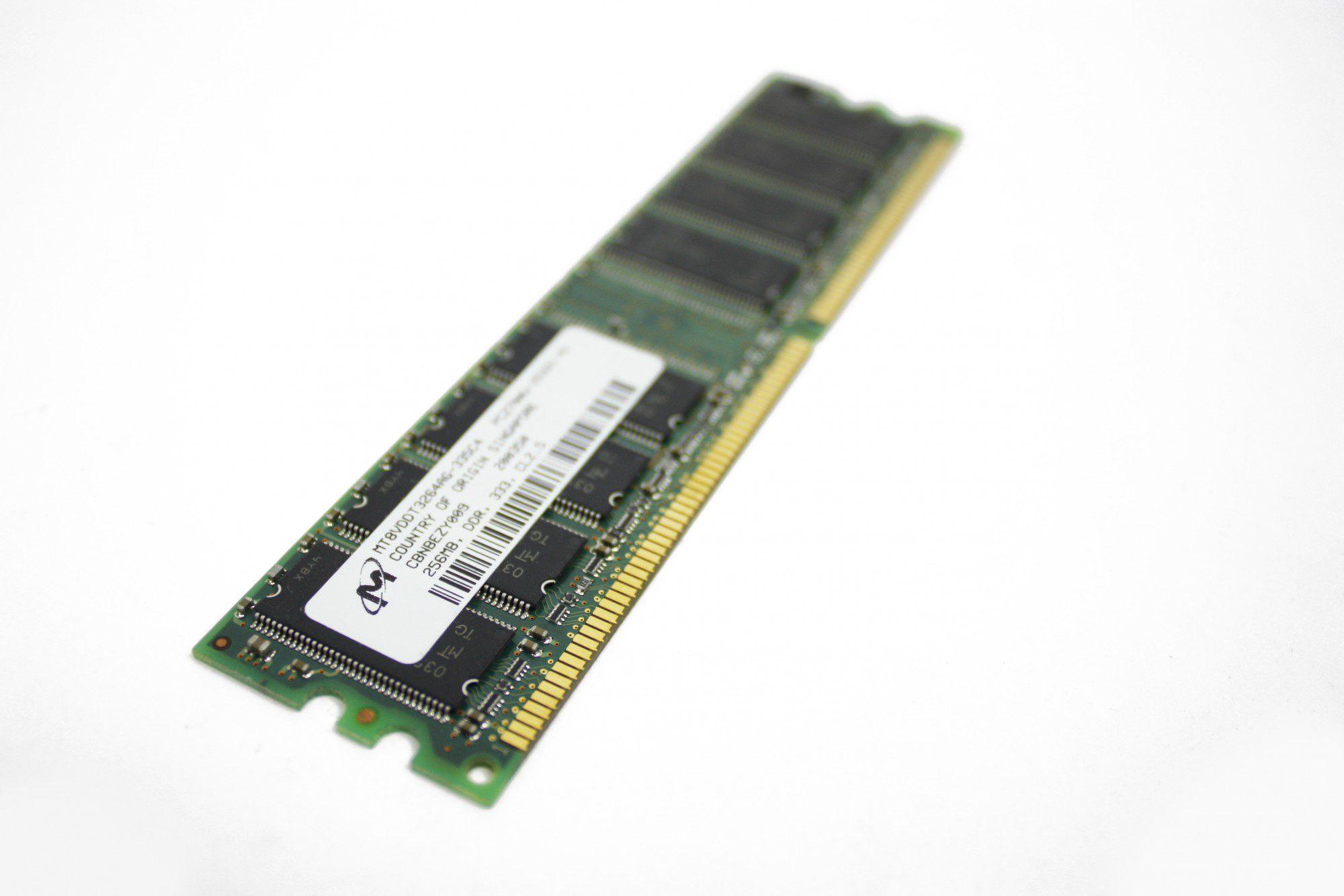 Single RAM stick DDR