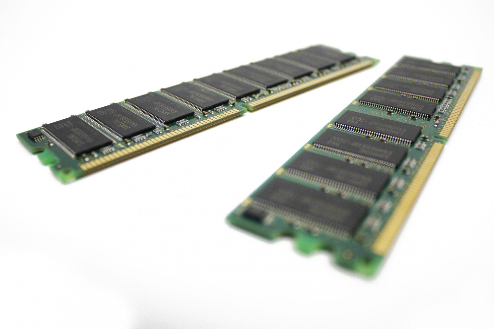 Two RAM Stick DDR