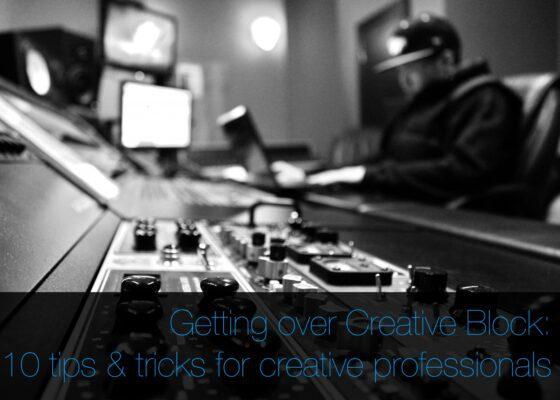 Getting over creative block