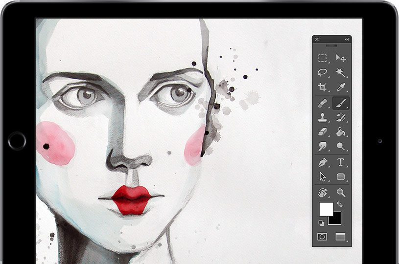 Astropad iPad graphics tablet photoshop