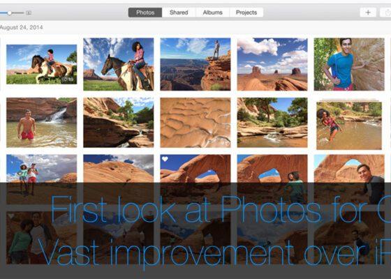Photos for OS X Mac