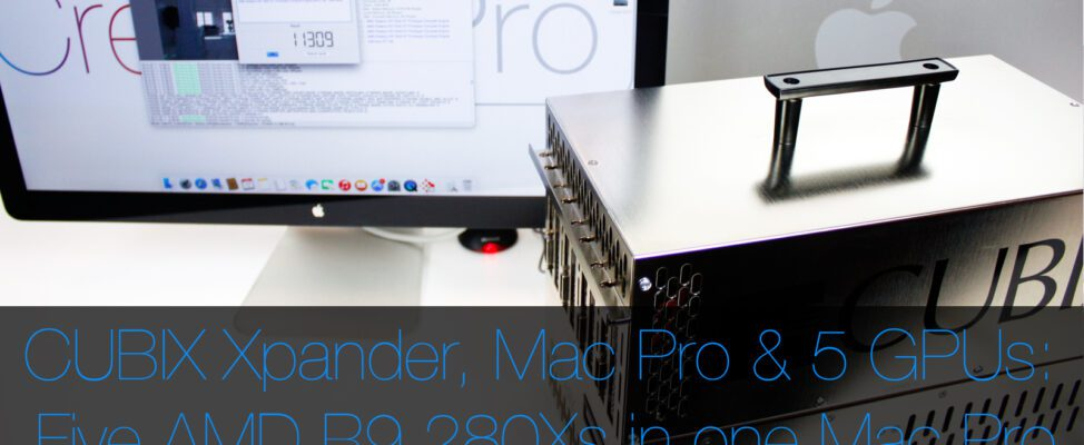 Mac Pro with 5 GPUs