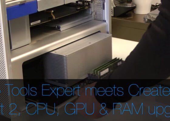 Pro Tools Expert meets Create Pro upgrade gpu gpu ram