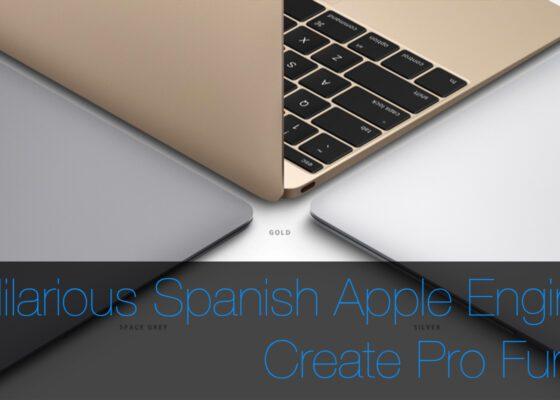 Spanish Apple Engineer MacBook USB C