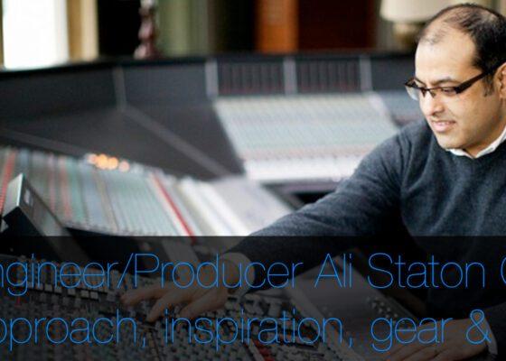 Ali Staton Q&A Pro Tools, production, mix engineering, mac pro, audio