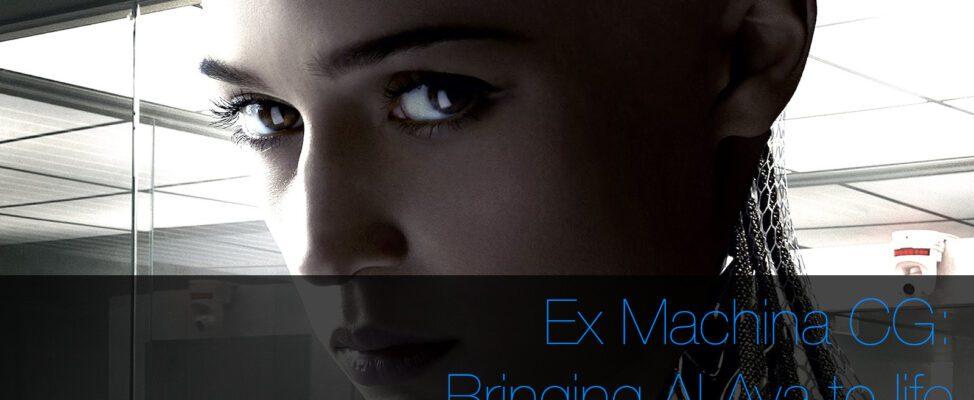 Ex Machina CGI Ava