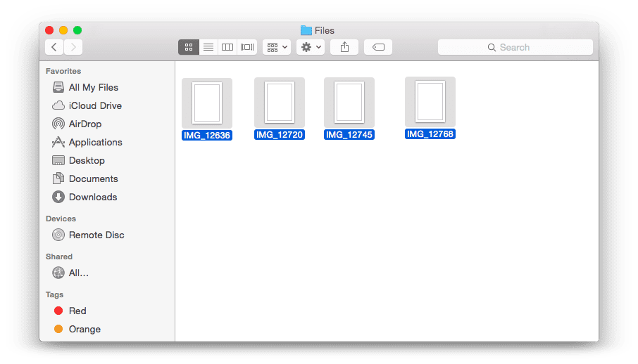 How to change file names in bulk