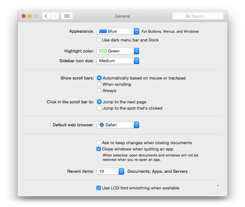 Change the colour of highlighted text on a Mac