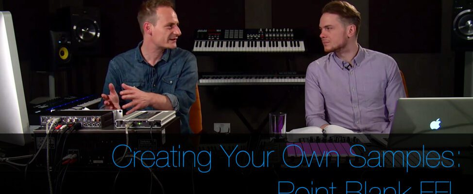 Create Your Own Samples For Use In Your DAW