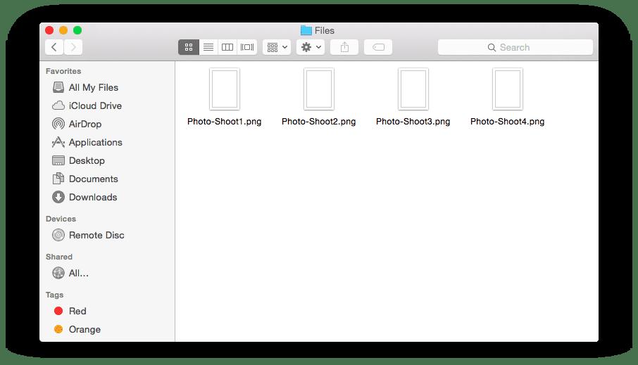 Editing file names in bulk
