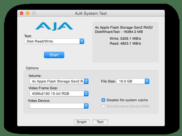 4x 2015 Apple Flash Storage Speed Test