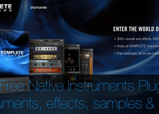 Free Native Instruments Plug-ins for your DAW