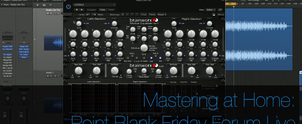 Mastering at Home from Point Blank