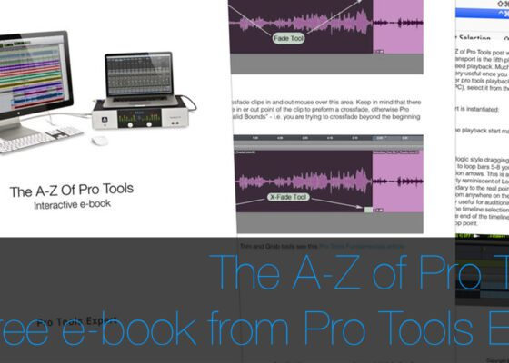 Pro Tools Expert A-Z free ebook from Pro Tools Expert