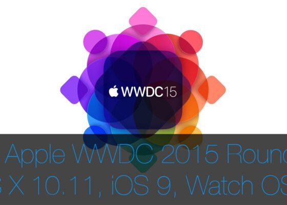 WWDC 2015 Apple OS X El Capitan
