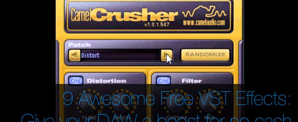 free vst effects for daw