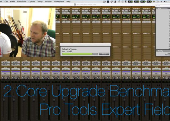 Create Pro 12 Core 3.46GHz Mac Pro CPU upgrade benchmarked by pro tools expert