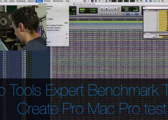 Pro Tools Expert test a Create Pro Mac Pro 2012
