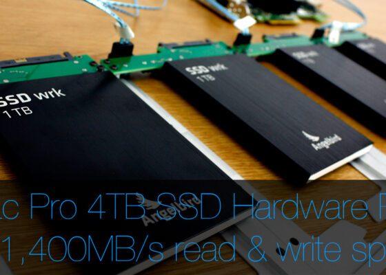 4TB internal Mac Pro SSD RAID 0