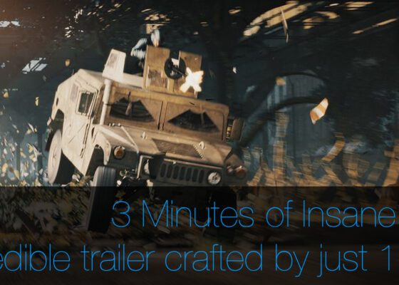 Awesome VFX trailer created by just 1 person