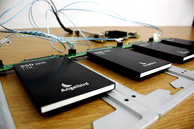 4TB SSD Hardware RAID in a Mac Pro