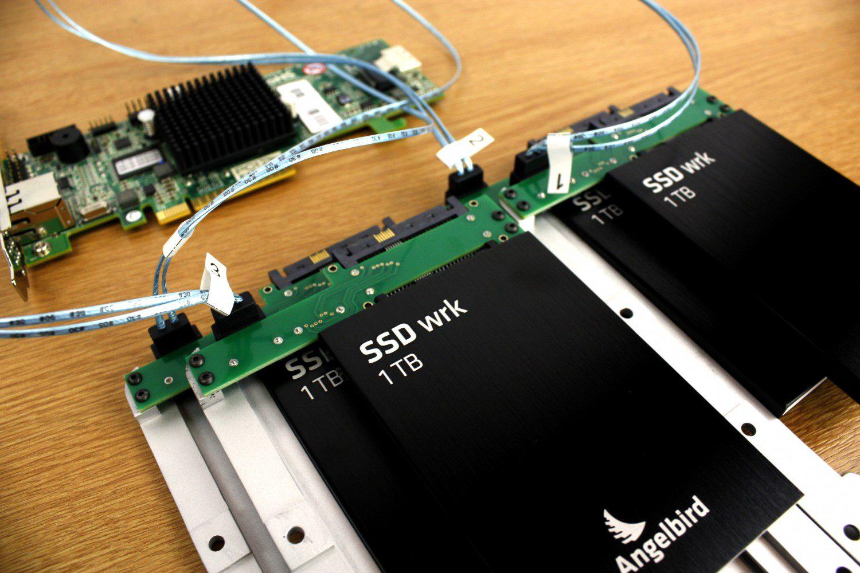 Mac Pro Hardware RAID with 4 1TB SSDs