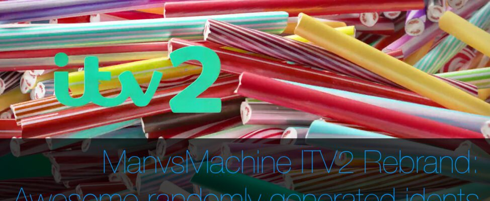 ManvsMachine ITV2 randomly generated idents