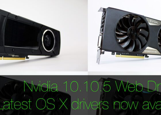 OS X 10.10.5 Nvidia Web Drivers now available