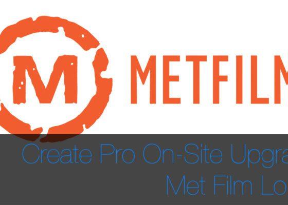 Create pro Zero Downtime London CPU Upgrade at Met Film