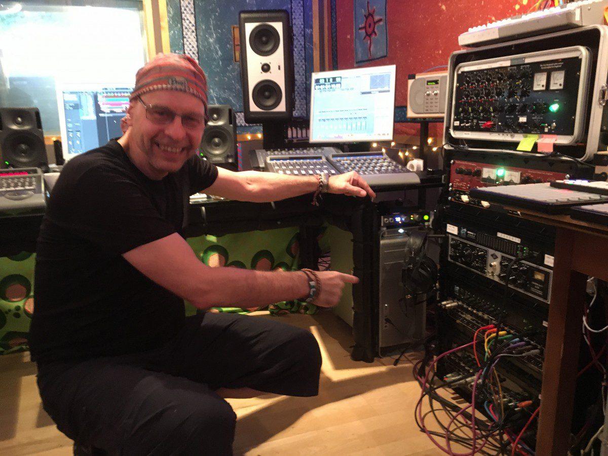 Gareth Jones at Strongroom Recording Studios, London