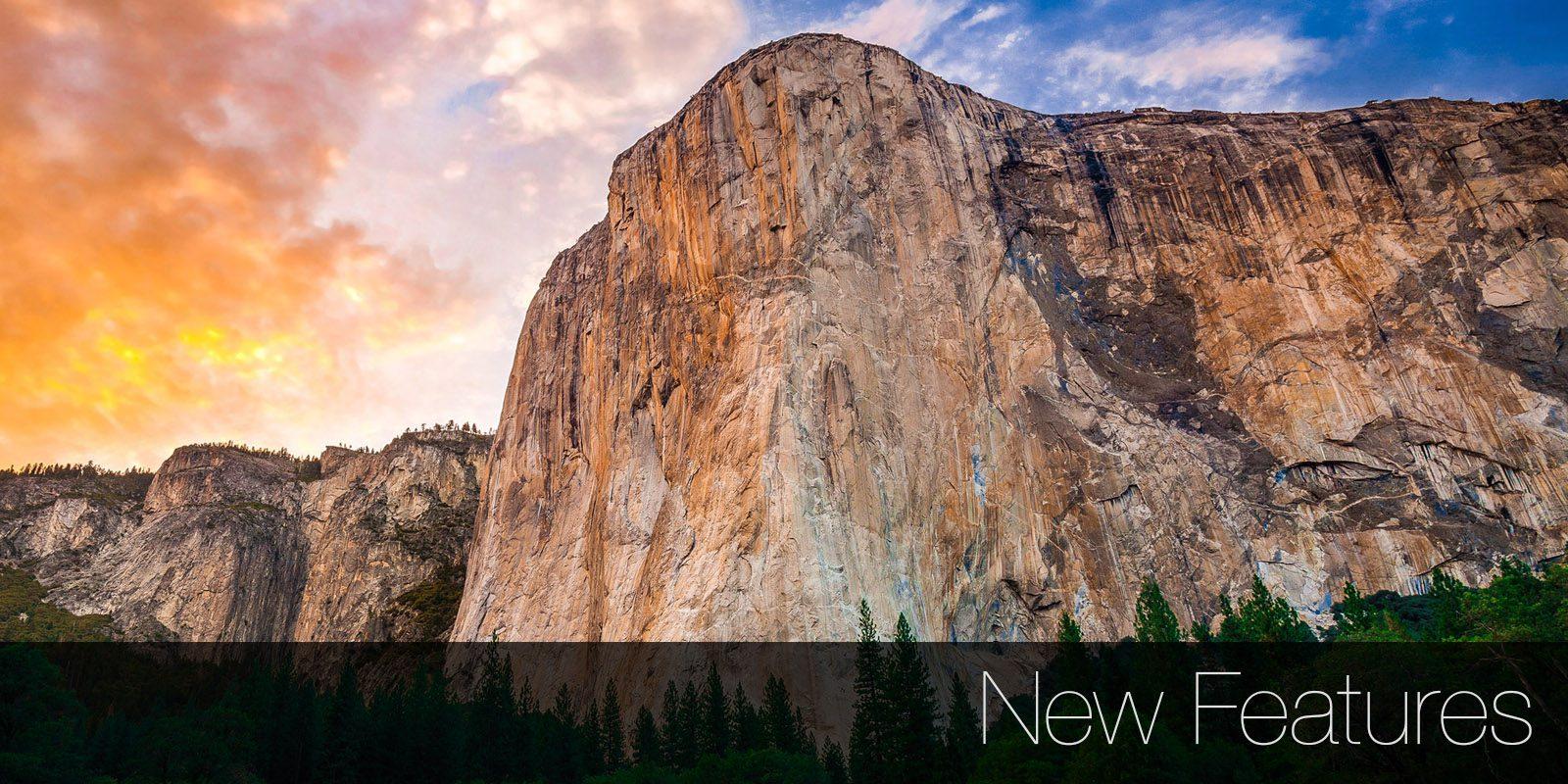 New Features in OS X El Capitan