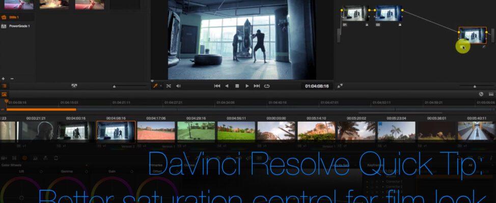 Get a Pro Film Look in DaVinci Resolve