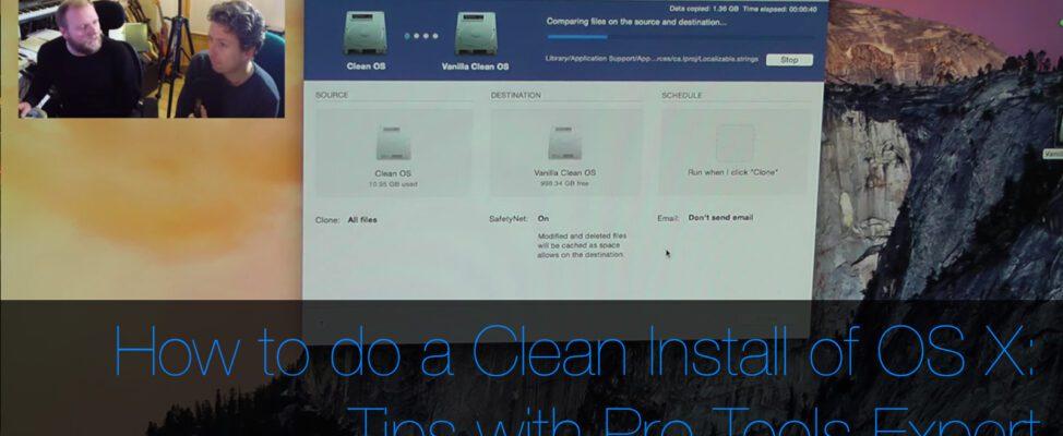 How to do a clean install of OS X on a Mac Pro