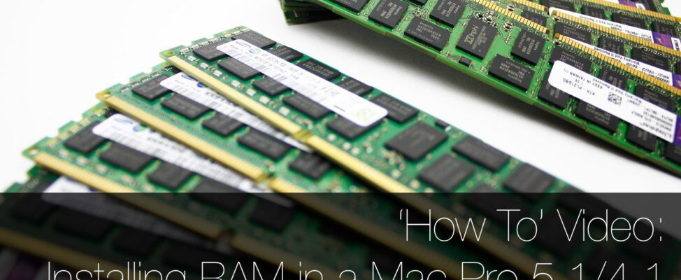 How to install new RAM in a classic Mac Pro 2009 2010 2012