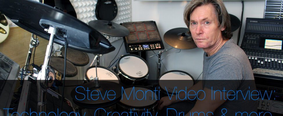 Steve Monti Video interview The Jesus and Mary Chain Drumming and Producing