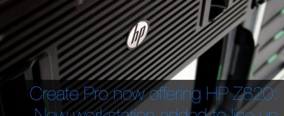 Custom HP Z820 Workstation