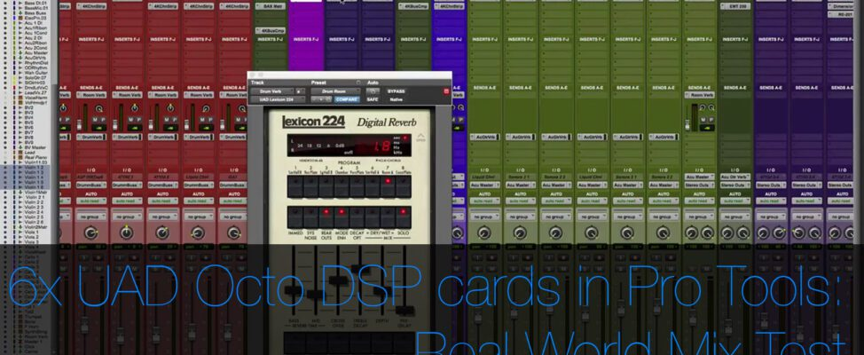 6 UAD OCTO DSP Accelerator Cards in 2010 Mac Pro part 2