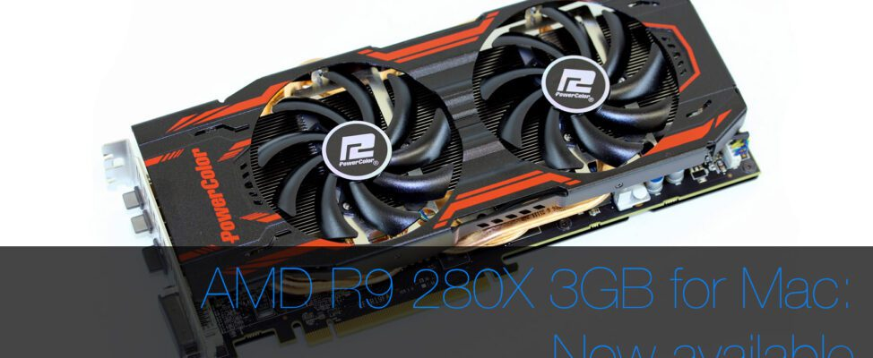 AMD R9 280X for Mac Pro