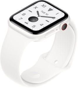 Apple white in white