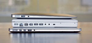Retina MacBook under White MacBook under MacBook Air