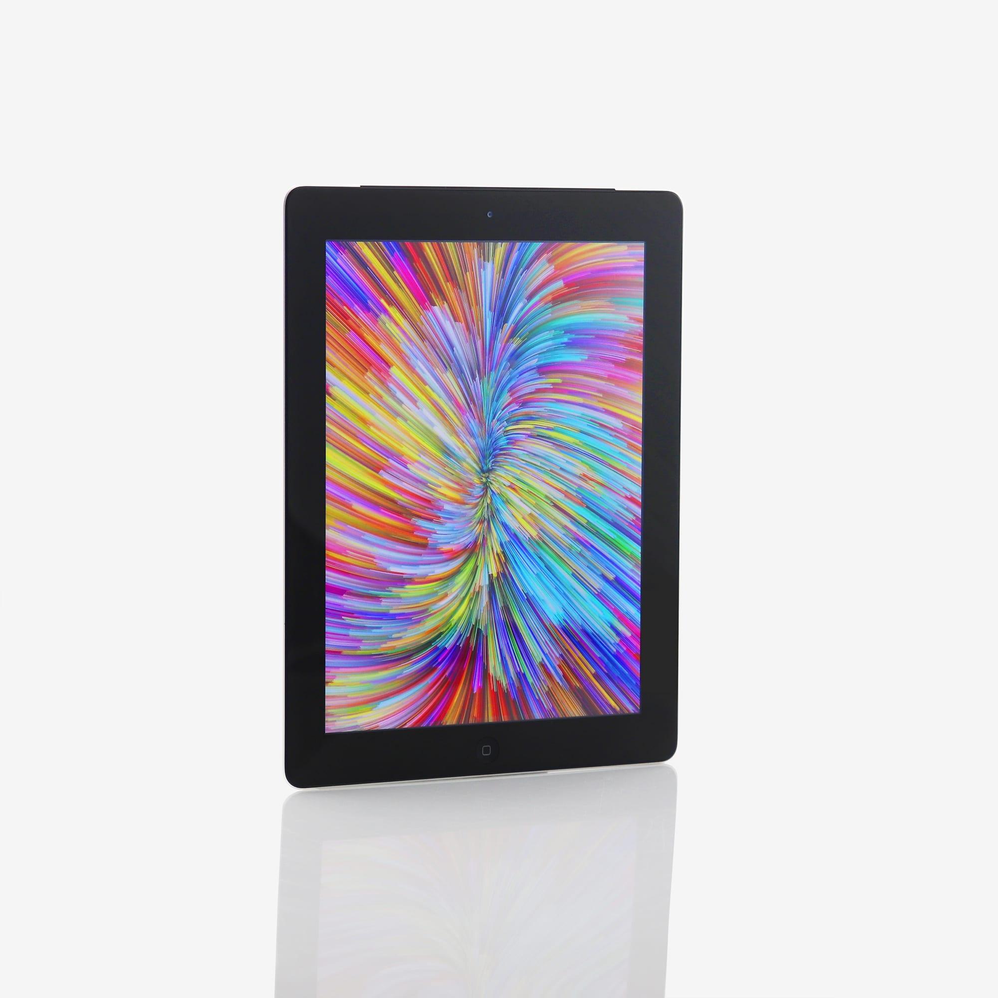 1 x iPad (4th generation) (Wi-Fi + Cellular) Black