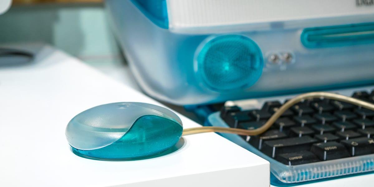iMac Hockey Puck Mouse