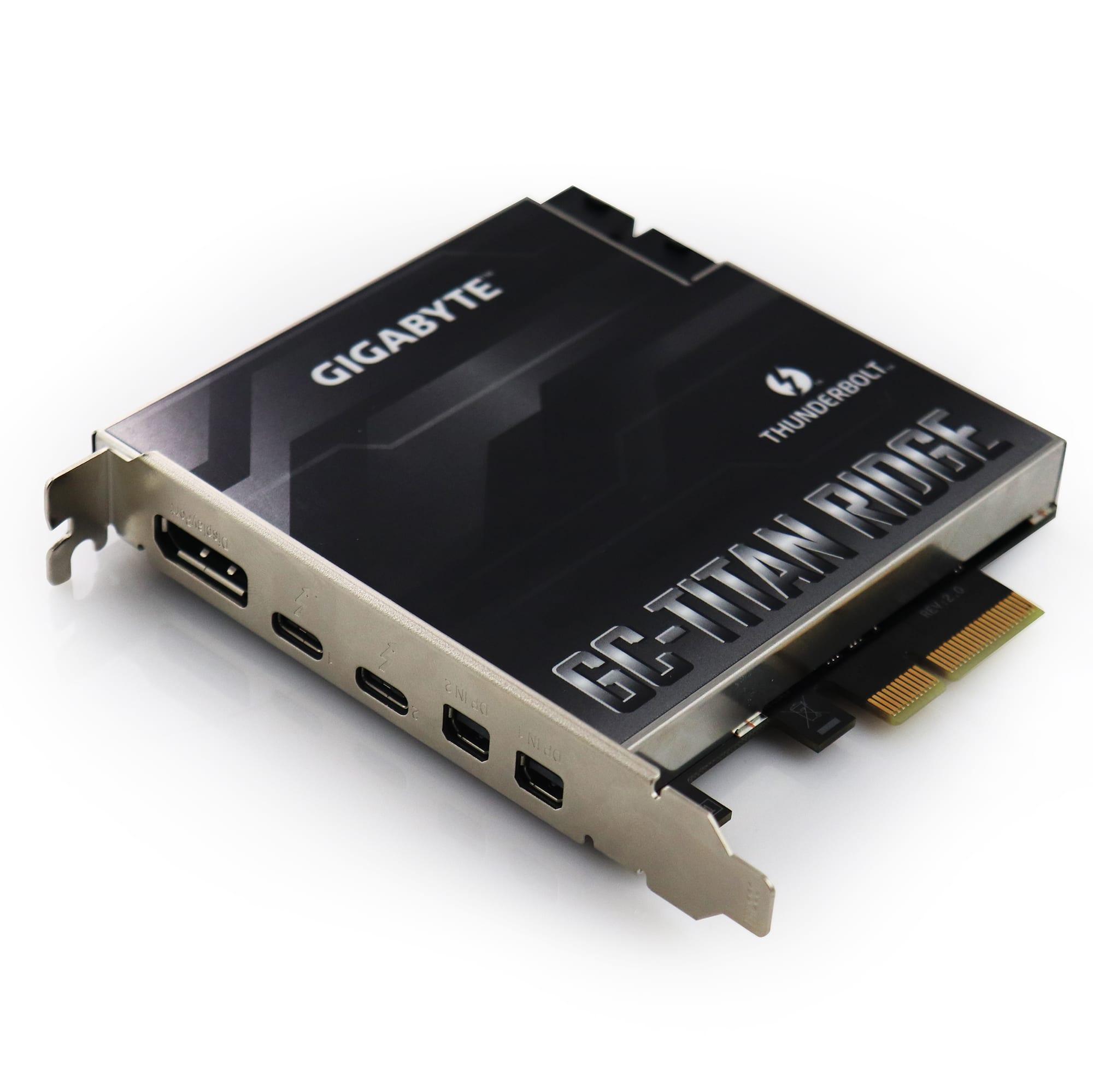 1 x Titan Ridge Thunderbolt 3 PCI-e Card for Mac