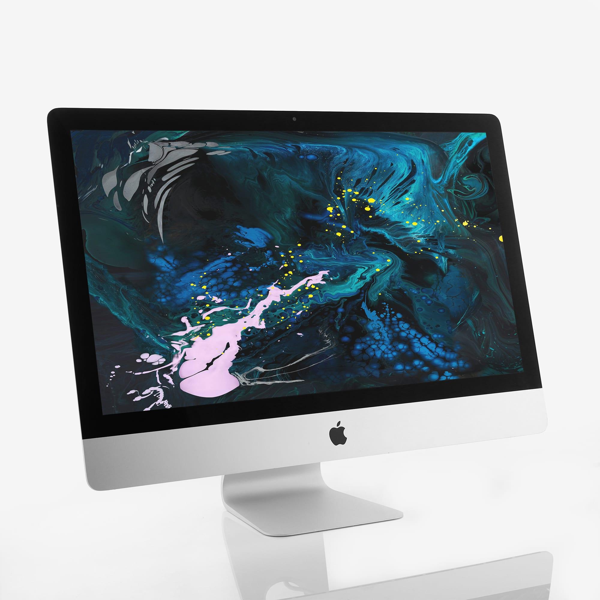 1 x Apple iMac Slim 27 Inch 5K Retina Quad Core i5 3.50 GHz (2017)