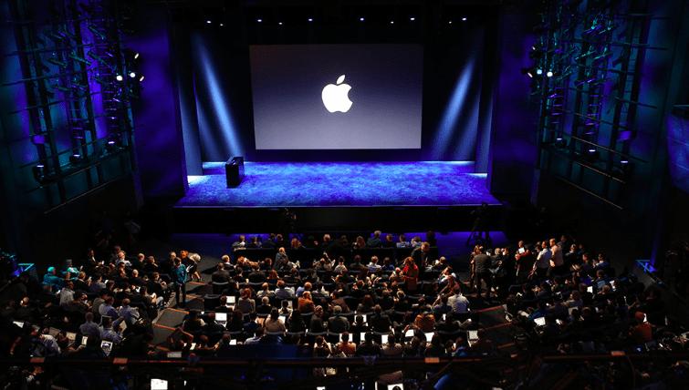 Apple keynote snapshot