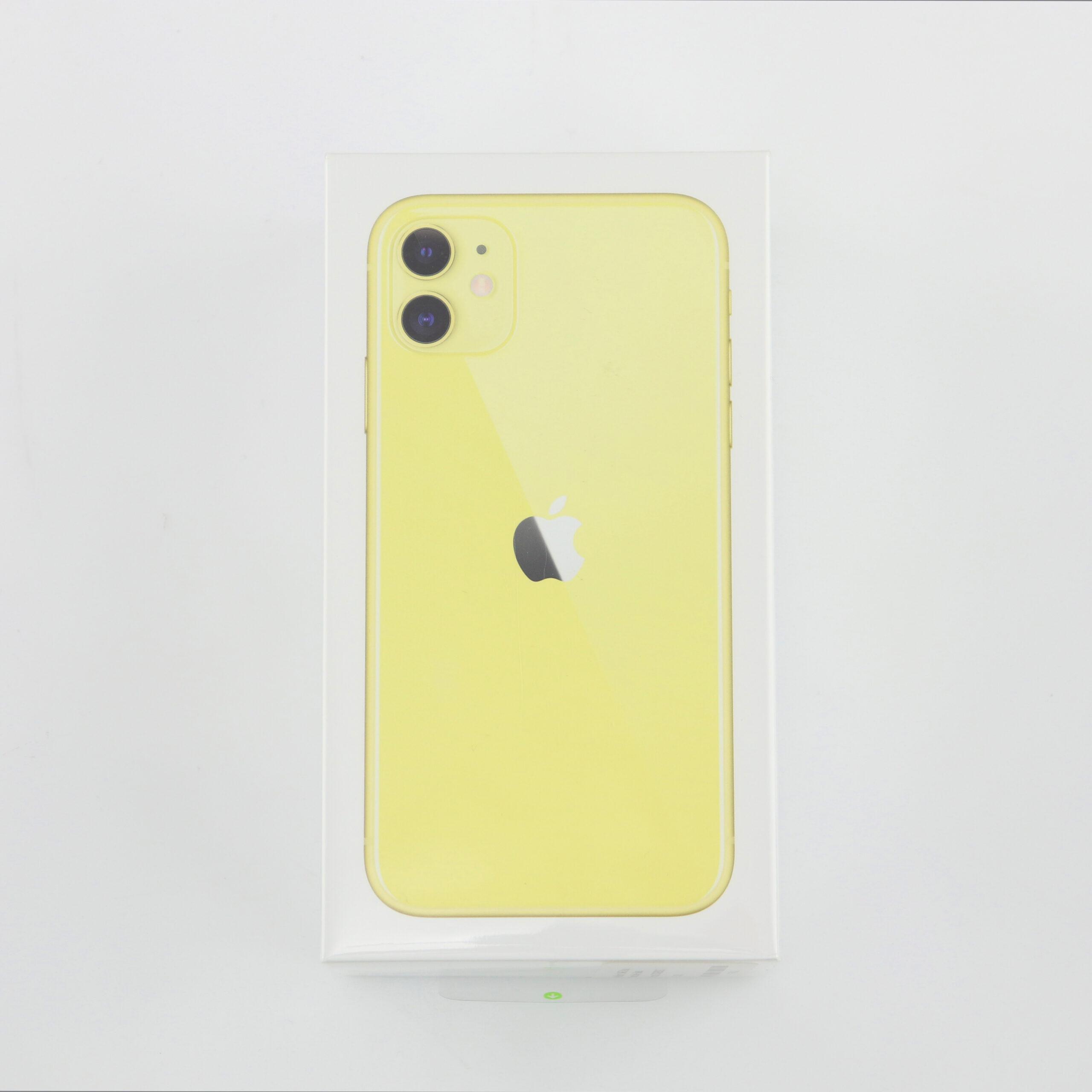 1 x Apple iPhone 11 (Unlocked) 64GB Yellow (BRAND NEW)
