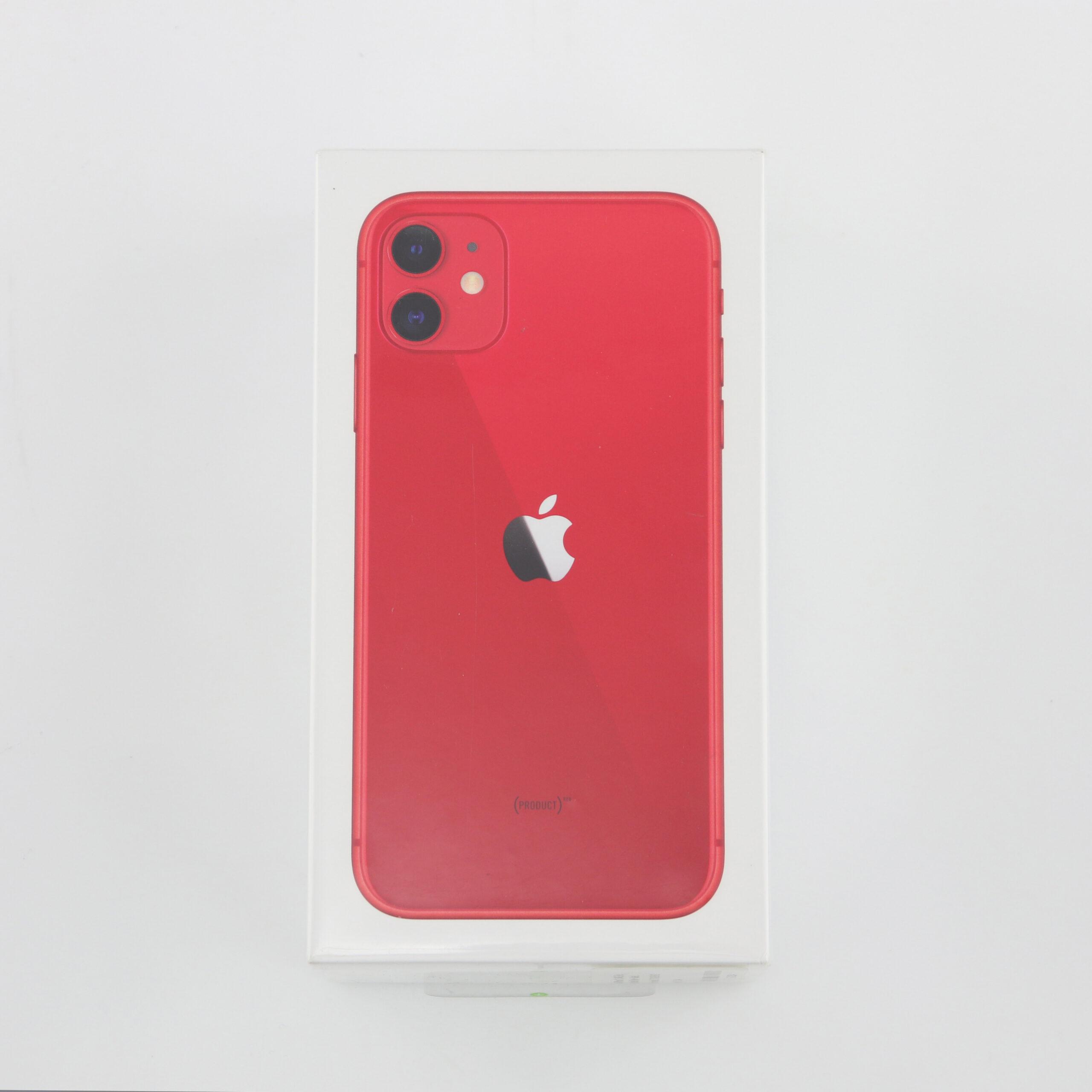 1 x Apple iPhone 11 (Unlocked) 64GB Red (BRAND NEW)